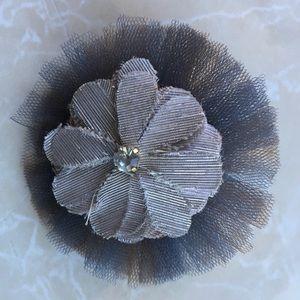 Ann Taylor LOFT Flower Pin Brooch
